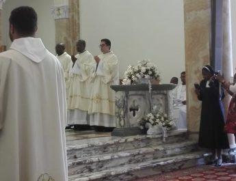 Hermano Fabián ordenado Diácono Transitorio en Roma