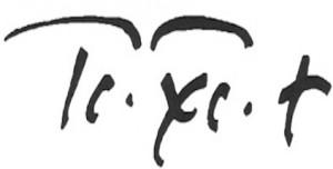 Firma de San Antonio Mª. IX+XC