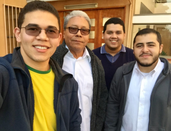 Visita del P. José Ramos